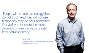 Brad Smith Microsoft Quote