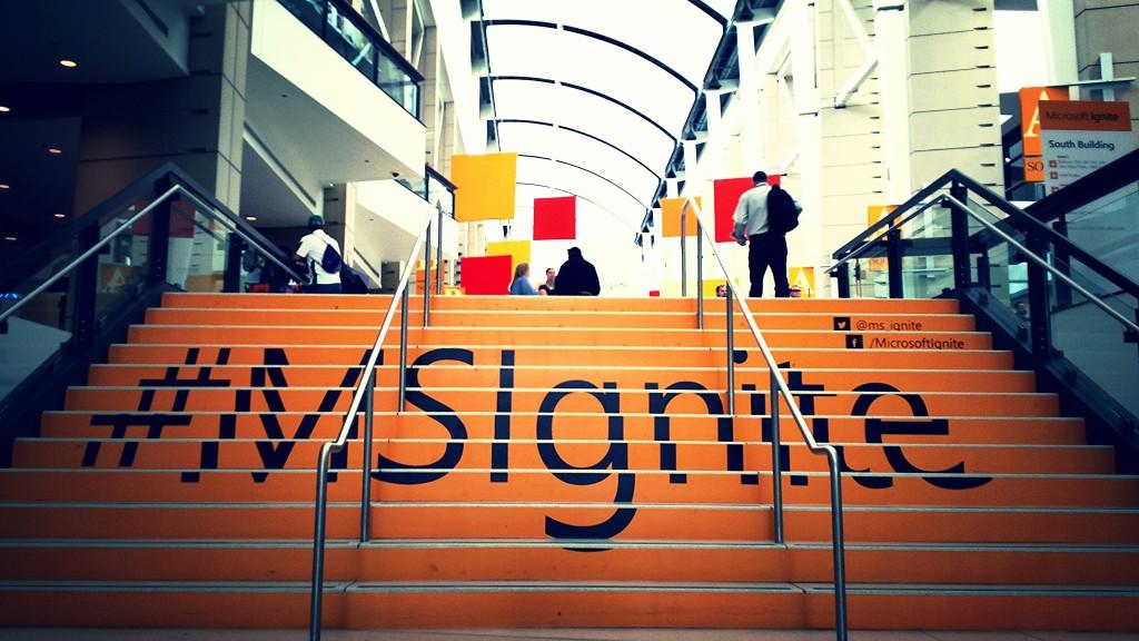 #MSIgnite Chicago - foto: Eric Burger