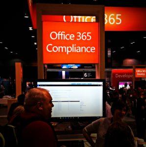 Office 365 Compliance Micosoft Ignite 2015 Chicago - foto: Eric Burger